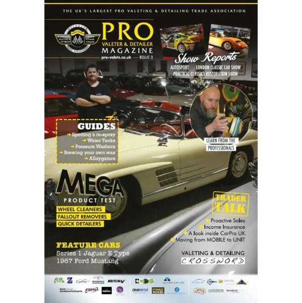 PRO Detailer Magazine - Nr. 3-2016 - Front Cover