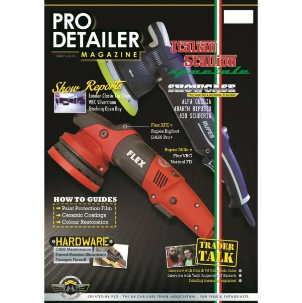 PRO Detailer Magazine - Nr. 5-2017 - Front Cover