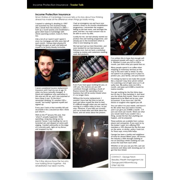 PRO Detailer Magazine - Nr. 3-2016 - Trader Talk