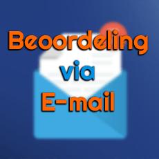 Laat een beoordeling achter via mail