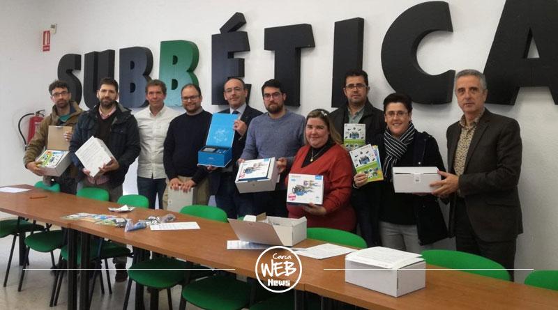 El Centro Guadalinfo de Carcabuey recibe un Kit de Robótica