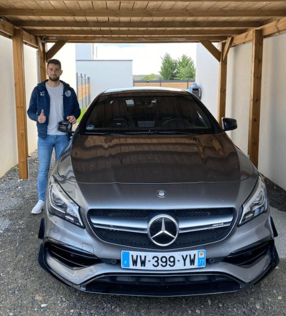 client satisfait Importateur Automobile Hyundai Occasion Allemagne - Carcelle.com - Mercedes-Benz CLA