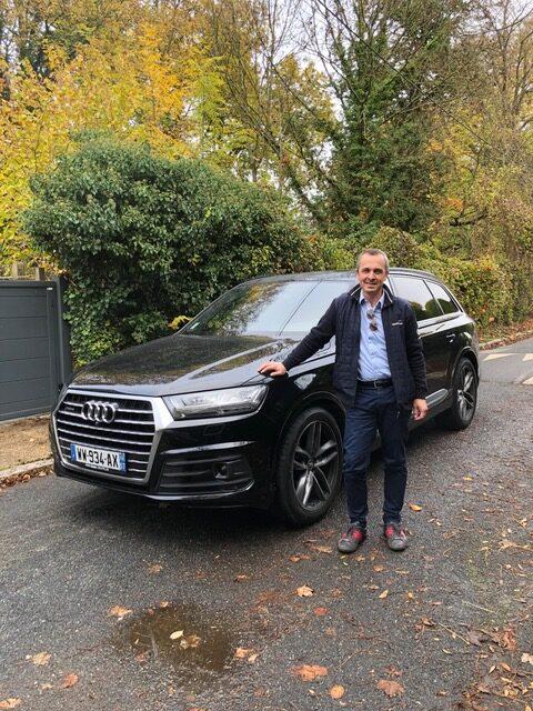 client satisfait Importateur Automobile Audi Occasion Allemagne - Carcelle.com - Audi Q7