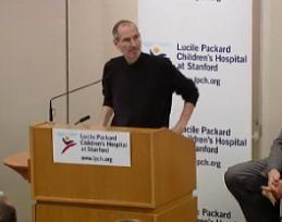 Steve Jobs, Pancreatic Neuroendocrine Tumor Patient, Talks