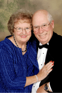 """""""Sunny Susan"""" and Howard Anderson, Susan is the 2012 winner of the Warner Advocacy Award"""
