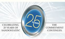 Sandostatin, Celebrating 25 Years of Commitment