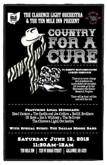 Country for a Cure, June 13, 2015