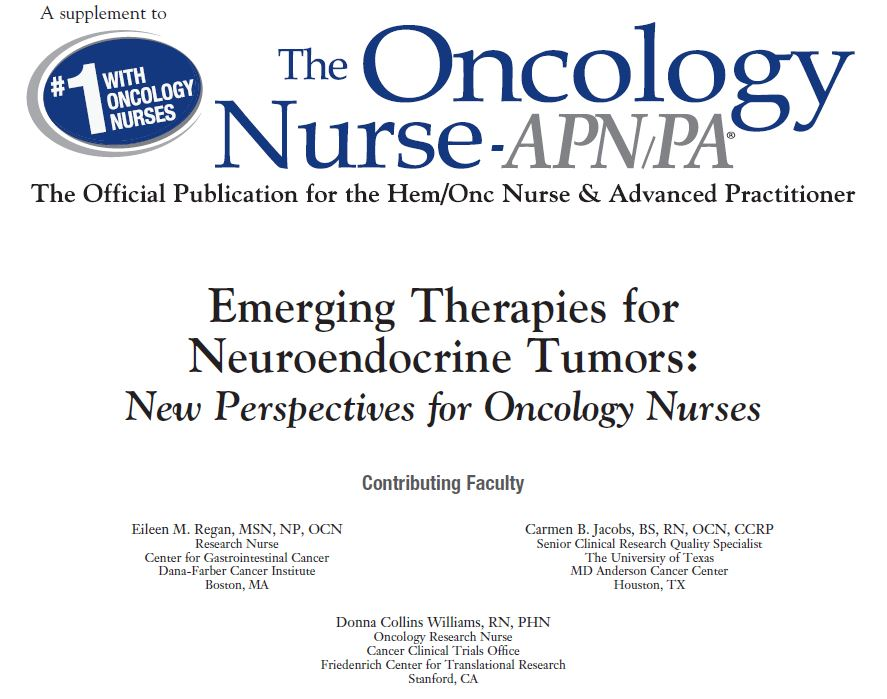 Educational Program for Oncology Nurses on Emerging Therapies for