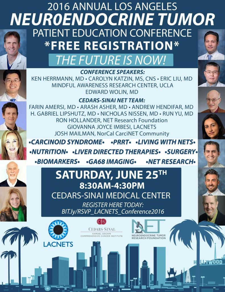 Los Angeles Neuroendocrine Tumor Patient Education Conference, June 2016