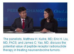 OncLive TV, PRRT, Dr. Eric Liu, Dr. Matthew Kulke, Dr. James Yao
