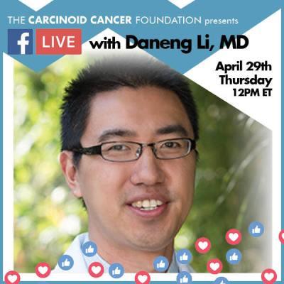 CCF FB LIVE Daneng Li, MD April29
