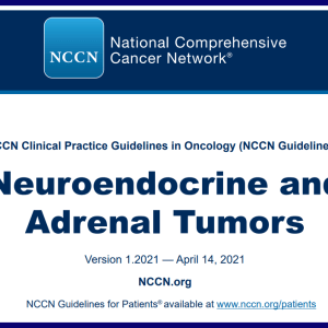 NCCN Guidelines, Neuroendocrine and Adrenal Tumors_2