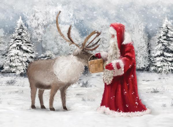 Winter Scene Cards