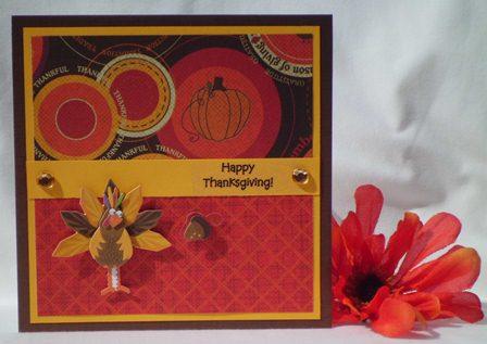HANDMADE THANKSGIVING CARD Ideas For Making Thanksgiving