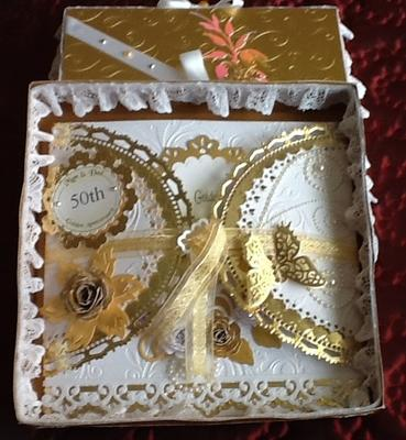 Ideas For Making A 50th Wedding Anniversary Card