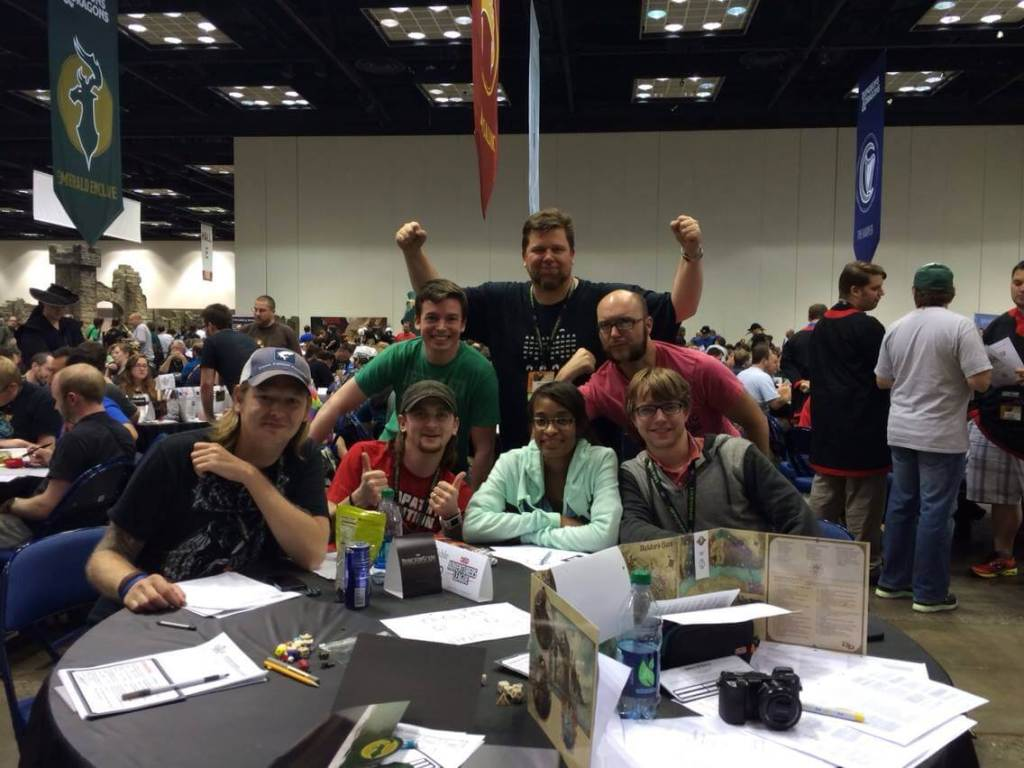 Dungeons & Dragon at Gen Con