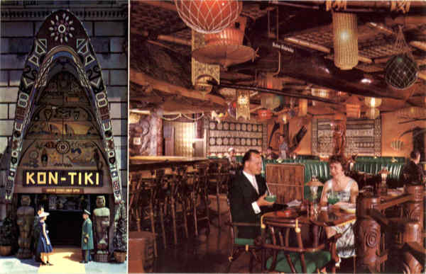 Kon Tiki Restaurant Montreal PQ Canada