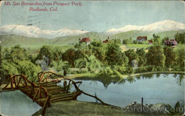 Redlands Prospect Park Ca