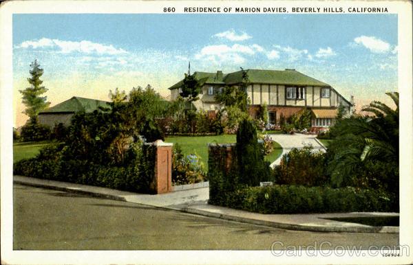 Marion Beverly Davies Hills Home
