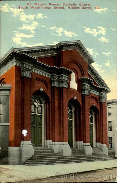 St Marys Roman Catholic Church South Washington Street
