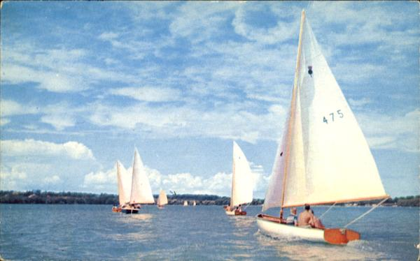 Summer Sailing Cayuga Lake NY