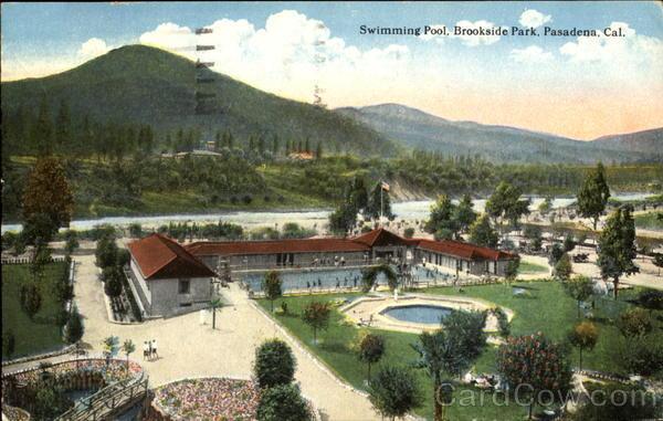 Swimming Pool Brookside Park Pasadena CA