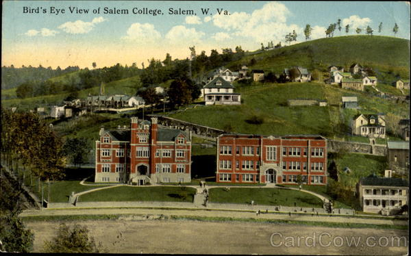 Birds Eye View Of Salem College