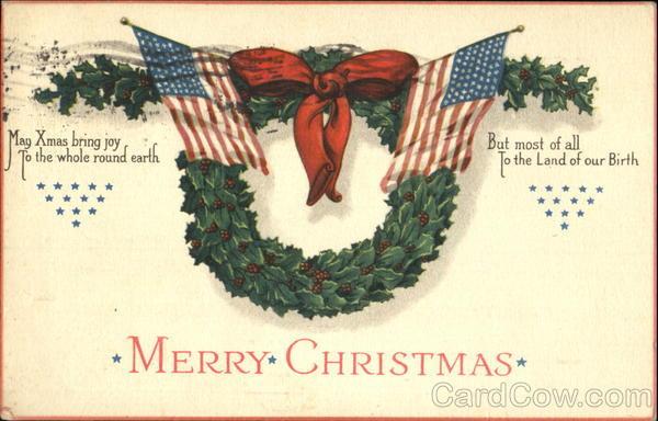 Merry Christmas Patriotic
