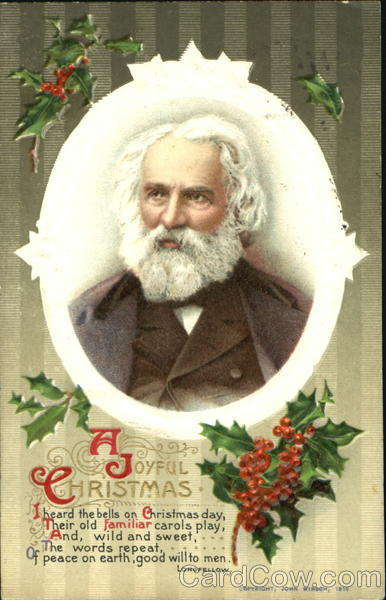 Henry Wadsworth Longfellow A Joyful Christmas Poems Amp Poets