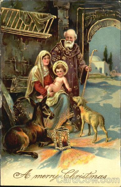Christmas Nativity Scene Madonna Amp Child