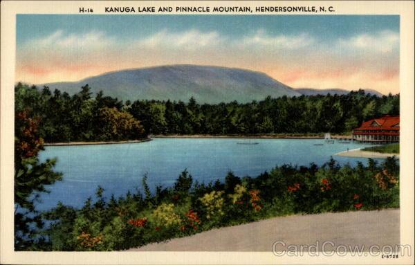 Kanuga Lake And Pinnacle Mountain Hendersonville Nc