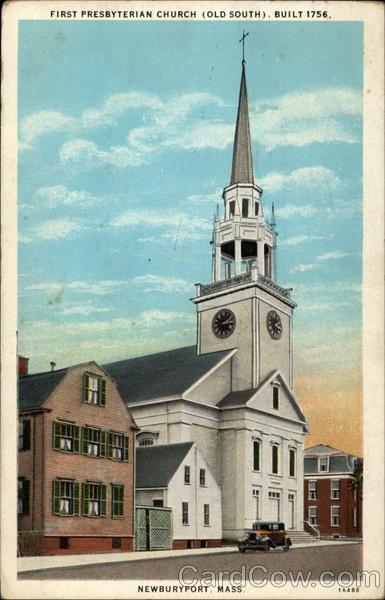 First Presbyterian Church Old South Built 1756