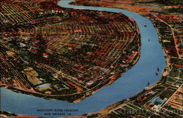 Louisiana City River