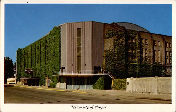 McArthur Court University Of Oregon Eugene OR