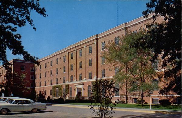 Keeneland Hall Girls Dormitory, University of Kentucky Lexington