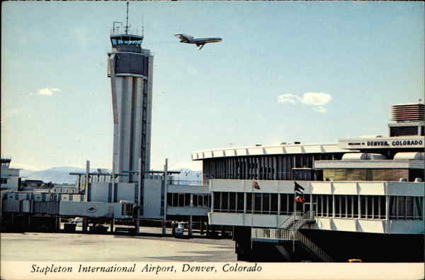 Stapleton International Airport Denver CO