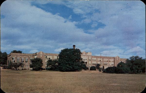 County Academy Postcard Richmond