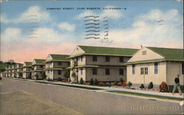 Company Street Camp Roberts CA