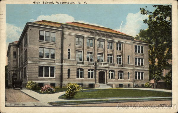 School Watertown Wi High Watertown