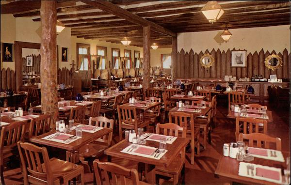 Dining Room Bright Angel Lodge Grand Canyon National Park AZ