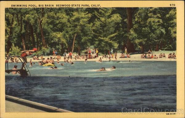 Swimming Pool Big Basin Redwood State Park CA