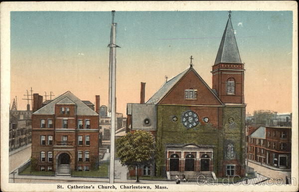 St Catherines Church Charlestown MA