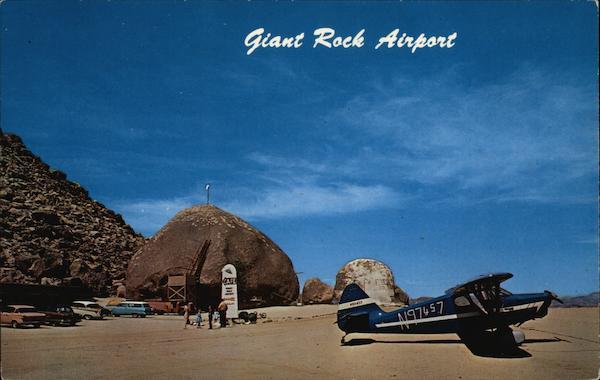 Giant Rock Airport Landers CA