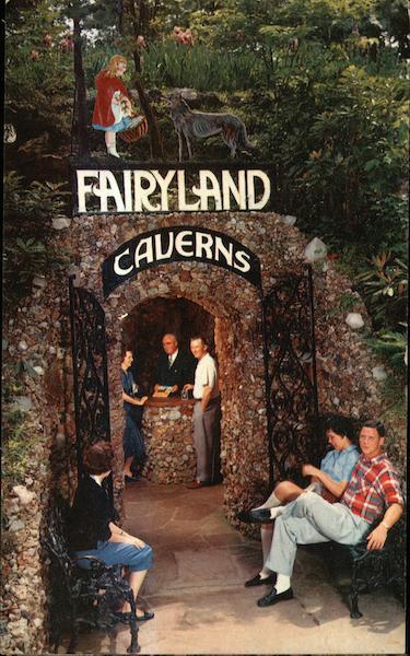 Entrance To Fairyland Caverns Rock City TN