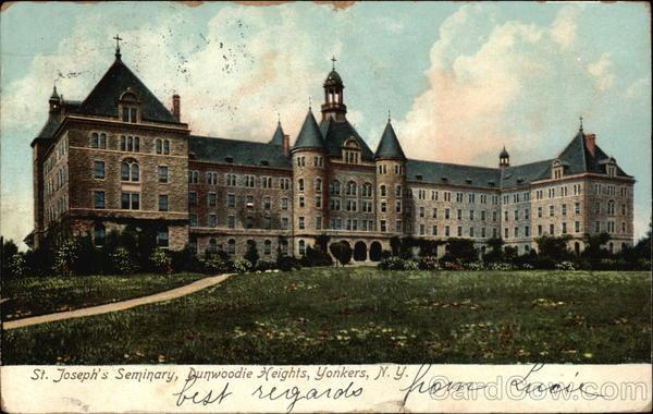 St Josephs Seminary Dunwoodie Heights Yonkers NY
