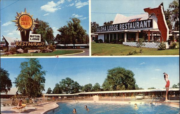 Quality Inn Aloha Amp Restaurant Hilliard FL