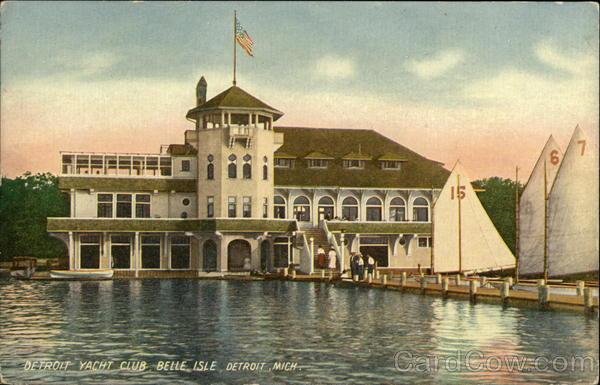 Detroit Yacht Club Belle Isle Michigan