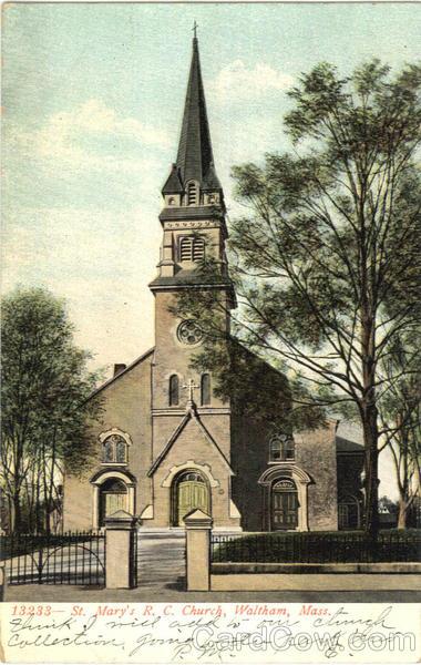 St Marys R C Church Waltham MA