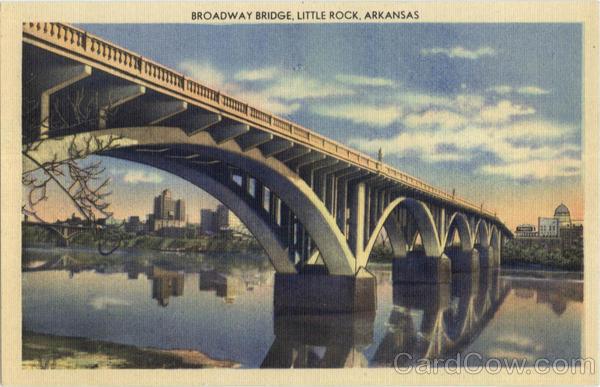 Broadway Bridge Little Rock AR