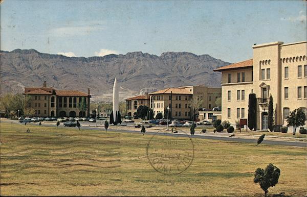 Captured German V2 Rocket Fort Bliss El Paso TX Postcard